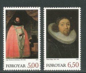 Faroe Islands 2003 #436-7 MNH. Religion