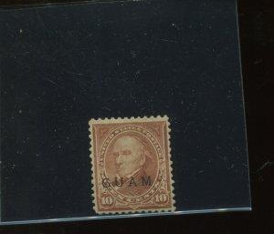 Guam Scott 9 Type 2 Mint Stamp with PF Cert (Stock Guam 9-PF2)