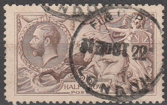 Great Britain #179 F-VF Used CV $75.00  (A14929)