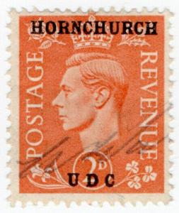 (I.B) George VI Commercial Overprint : Hornchurch Urban District Council