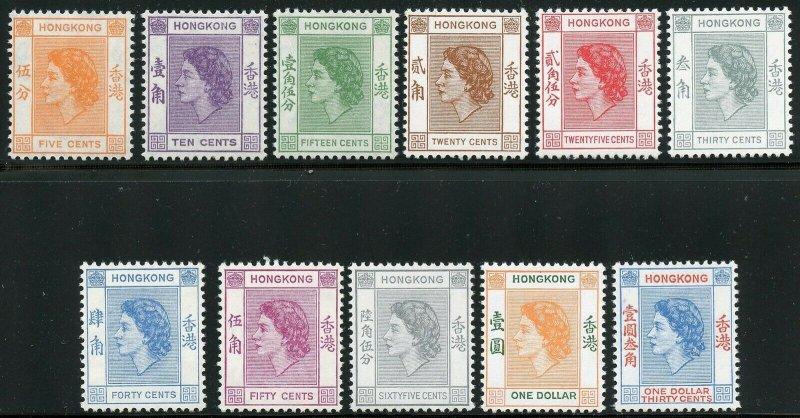 HONG KONG  SCOTT#185/98  MINT NH-SCOTT VALUE $229.85
