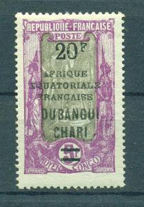 Ubangi-Shari sc# 81 mh  cat value $27.50