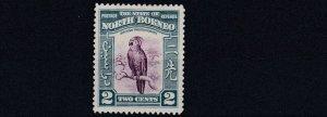NORTH BORNEO  1939  S G 304  2C  PURPLE & BLUE    MH