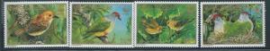 Cook Islands - 1989 - WWF & Birds 4 Stamp Set, Scott #1016-9 3L-015