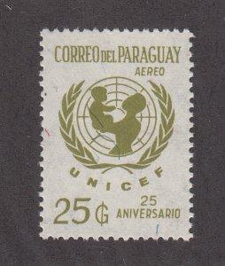 Paraguay Scott #1421 MH