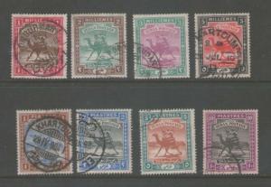 Sudan 1898 Sc 9-16 set FU