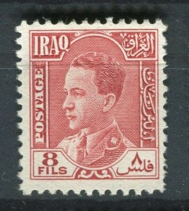 IRAQ; 1934 early Ghazi issue Mint hinged 8f. value