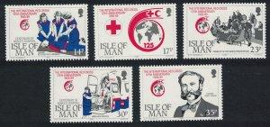 Isle of Man International Red Cross 5v SG#424-428