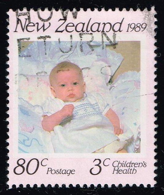 New Zealand #B136 Princess Beatrice; Used (2.00)