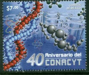 MEXICO 2722, National Council of Science and Technology. MINT, NH. VF.