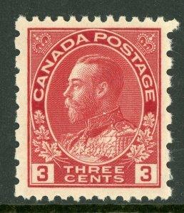 Canada 1931 KGV Admiral 2¢ Carmine Perf 12 x 8 Scott #138 Mint Z584
