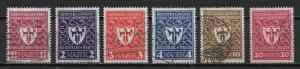 Germany 212-17 Arms of Munich set Used (z1)