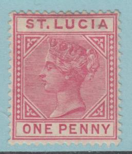 ST LUCIA  28 MINT HINGED OG * NO FAULTS EXTRA FINE !