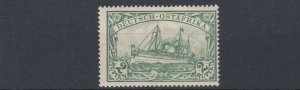 GERMAN EAST AFRICA  1901  S G 24  2R   GREEN  MH