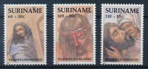 [SU 687] Suriname 1991 Easter Paintings - Jesus Christ  MNH