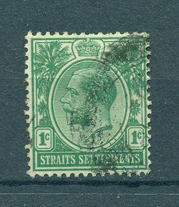 Straits Settlements sc# 149 (5) used cat value $1.50