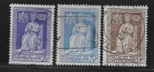 IRELAND, 142-144, USED, STATUE OF ST. PETER