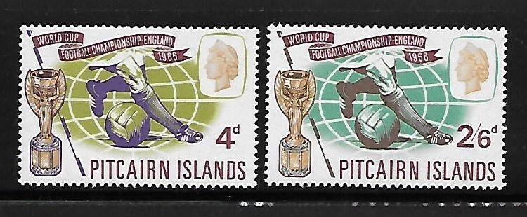 Pitcairn islands 1966 World Cup Soccer issue Omnibus MNH A359