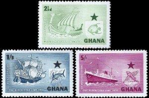 Ghana 1957 Sc 14-16 M lh
