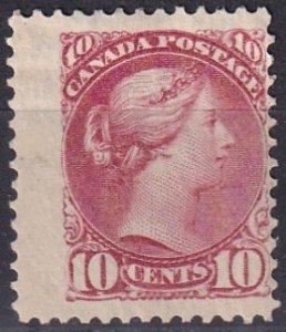 Canada #45a Unused  CV $625.00 (Z3848)