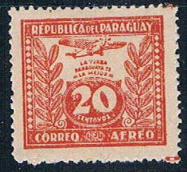 Paraguay C64 MNH Yerba Mate 1931 (P0298)+
