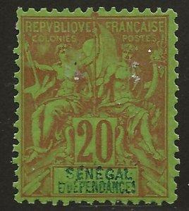 Senegal (1892)  - Scott # 44,  MH