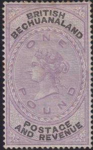 Bechuanaland 1887 SC 21 MLH