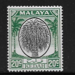 MALAYA, 72, MINT HINGED, SHEAF OF RICE