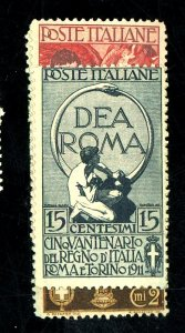 ITALY 119-122 MINT FVF OG HR Cat $110