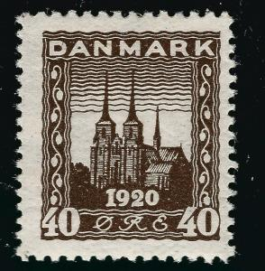 Denmark Nice SC #158  F-VF Mint OG  SCV $10.00... Fill a bargain spot!