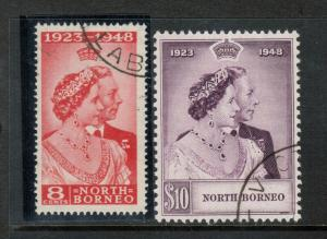 North Borneo #238 - #239 Very Fine Used Set