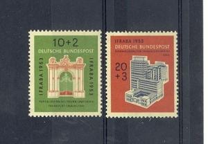 Germany Scott B332-B333 NH    [ID#431301]