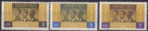 Albania #703-5  MNH CV $3.60  (Z8021)