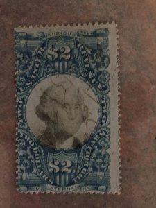 R123-1871 $2, blue/black, revenue