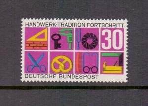 Germany  1968  MNH  German crafts and trades complete