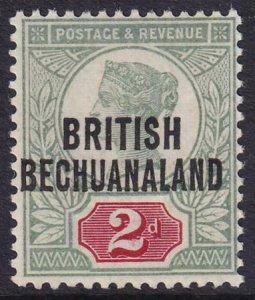 Bechuanaland 1891-1894 SC 34 MLH