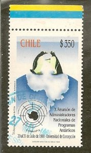 Chile  Scott 1247    Antarctic Research  Used