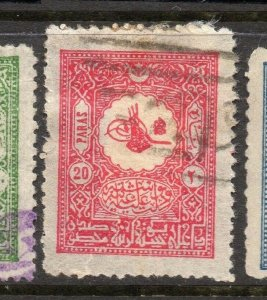 Turkey 1901 Early Issue Fine Used 20p. 284364
