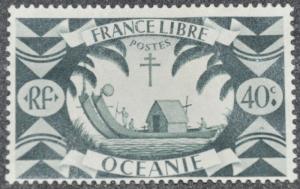 DYNAMITE Stamps: French Polynesia Scott #140 – UNUSED