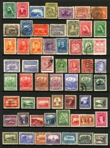 Newfoundland #61-#160 1897-1929 Assorted Mint Lightly Hinged and Used Lot