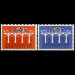 FINLAND 1984 - Scott# 693-4 Europa-Bridge Set of 2 NH