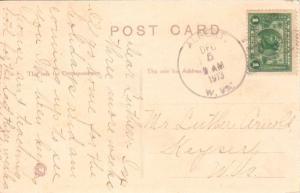 United States West Virginia Albert 1913 4a-bar  1895-1966  1c Panama Pacific PC.
