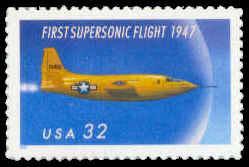 3173 32c X-1 Aircraft Fine MNH Plt/4 UR B1111 F04484