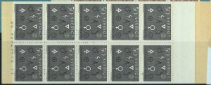 91449b - SWEDEN - STAMPS: Booklet   Mi # 506 1963 Engineering Skill and Industry