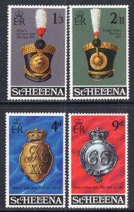 St Helena 240-243 MNH VF