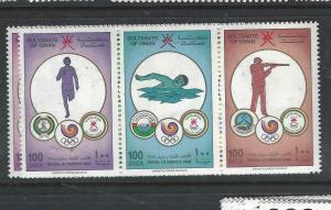OMAN   (P1905B) OLYMPICS  SG 353-8  MNH