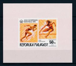 [55775] Madagascar 1976 Olympic games Montreal Athletics MNH Sheet
