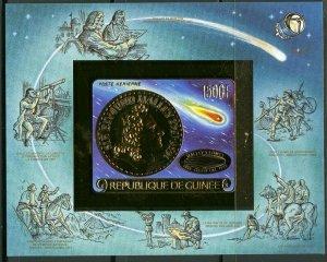 1986 Guinea 1114/B220bgold Halley's Comet 35,00 €