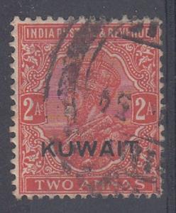 Kuwait Scott 22 Used (Catalog Value $95.00)