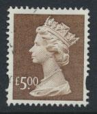 Great Britain SG Y1803 Machin £5   Used